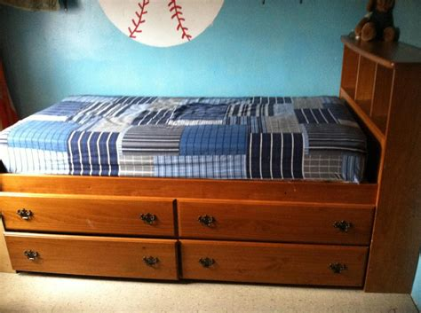 full bed frame with drawers best design twin bed frame with drawers doherty house
