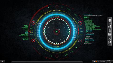 hi tech desktop rainmeter for all windows by takeshikawa vortex by pratlegacy on deviantart