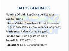 Ecuador Lenguas Générales