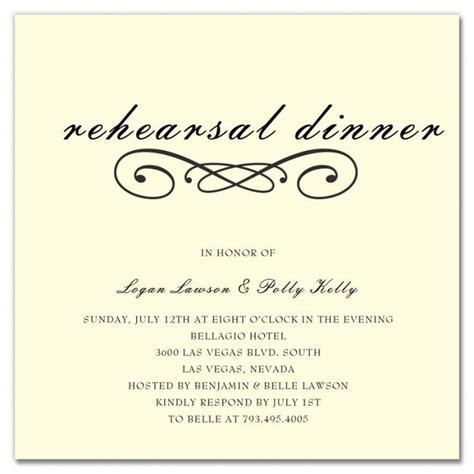 wedding rehearsal invitation template when should rehearsal dinner invitations be sent best