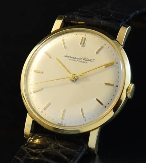 iwc 18k solid gold watchestobuy