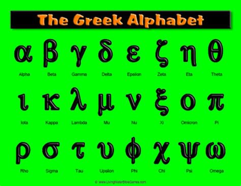 printable greek alphabet printable greek alphabet chart