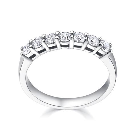 Eternity Ring Cincin Emas Cincin Berlian Perhiasan Emas Cincin Kawin tiaria ring 18k gold jewelry tiaria crowns you with