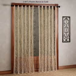 string curtain panels sorrento ii gold string lace curtain panels