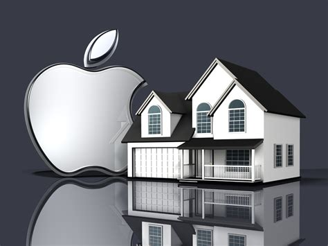 Apple Home by Six More Silver Metallic Apple Logos Norebbo