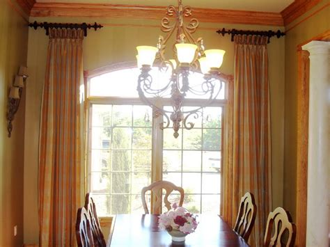 drapery ideas for dining room bloombety window treatments ideas with dining room