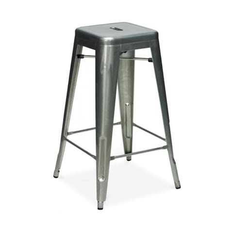 Retro Dining Room Sets raw industrial gunmetal 65cm tolix style industrial stool