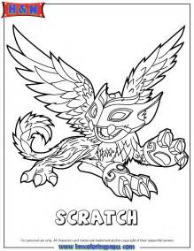 skylanders coloring page free coloring pages of skylanders warnado