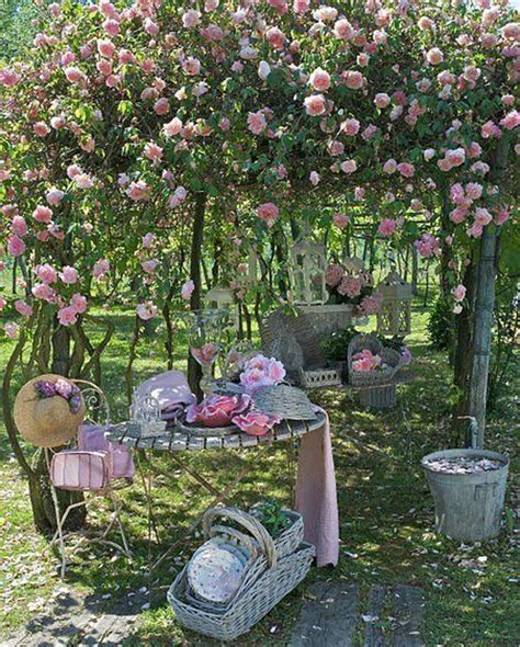 outdoor garden decor 17 shabby chic garden for romantic feel house design and
