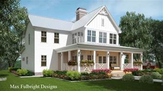 farmhouse building plans 2 story house plan with covered front porch