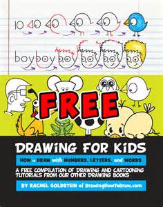 free drawing activity book kids draw step step drawing tutorials