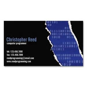 rip business cards binary rip blue business card template computer theme