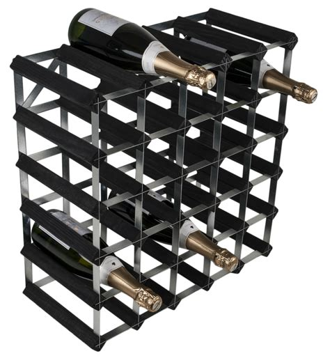 30 Bottle Wine Rack by 30 Bottle Traditional Wooden Wine Rack 5x5