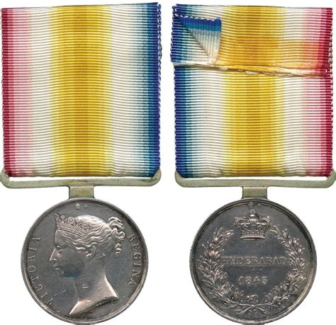 types of medals military medals scinde medal 1843 hyderabad type