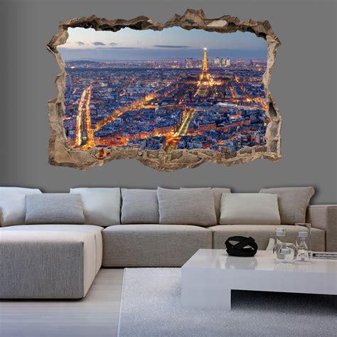 3d wandillusion wandbild fototapete poster loch in der - Bilder An Wand