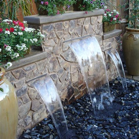 Backyard Waterfall Ideas 25 Best Ideas About Backyard Waterfalls On Garden Waterfall Diy Waterfall And