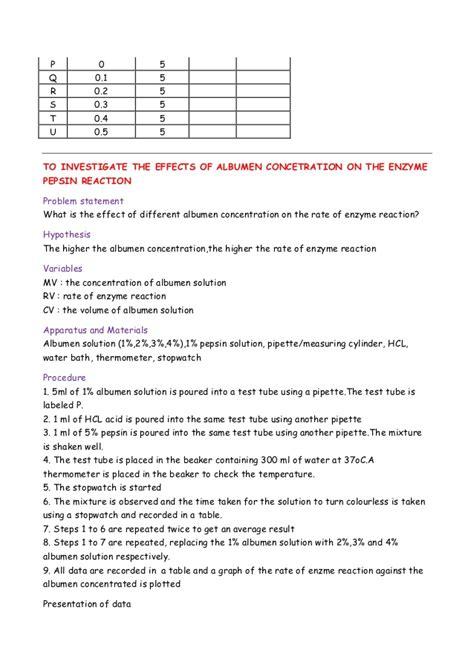 design experiment biology spm biology spm paper 3 experiment