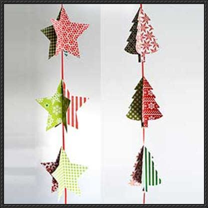 Papercraft Decorations - papercraftsquare new paper craft five pointed