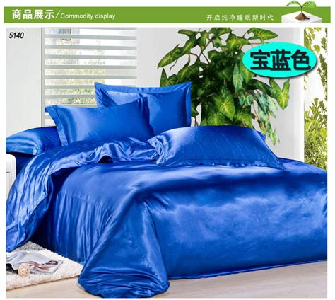 blue satin comforter blue satin comforter promotion shop for promotional blue