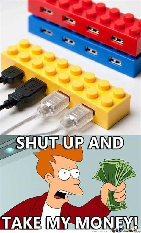 Usb Meme - lego usb hub by gtauvc meme center