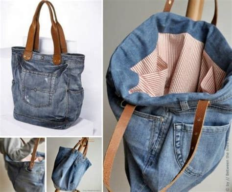 pattern for jeans bag denim jeans bag pattern easy diy video tutorial