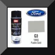 sem 19063 sem factory pack basecoat ford paint code g3 quot pueblo gold quot 16oz aerosol
