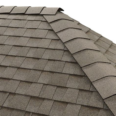 Roof Hip And Ridge gaf timbertex fox hollow gray hip and ridge shingles 20 linear ft per bundle 0840330 the