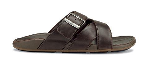 comfort slide sandals olukai kaupea men s leather comfort slide sandal free