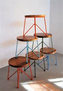 cool stools colorful chairs