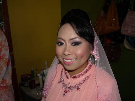 Makeup Kahwin maisarah abdullah freelance makeup artist kahwin mall