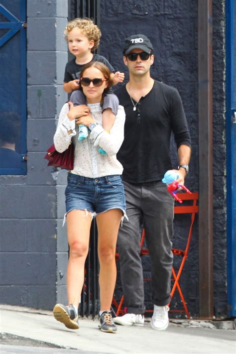 Jaqueline Kennedy by Natalie Portman And Benjamin Millepied Step Out With Their