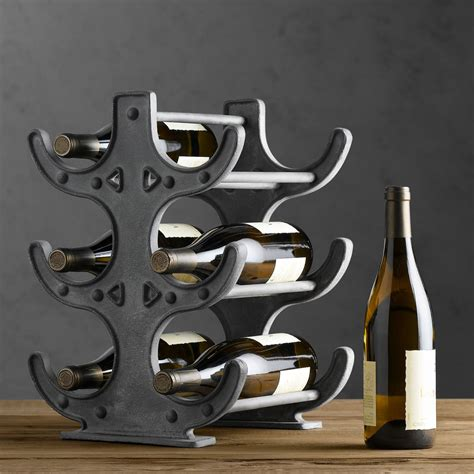 factory table wine rack the green
