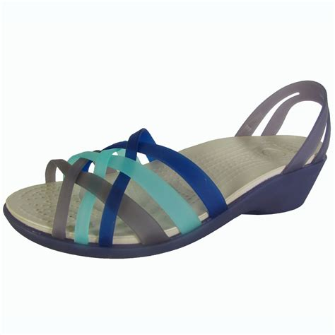 Huarache Mini Wedge crocs s huarache mini wedge sandal shoes tanga