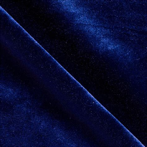 Blue Velvet Upholstery by Stretch Velvet Knit Royal Captain Rogers It Is And An