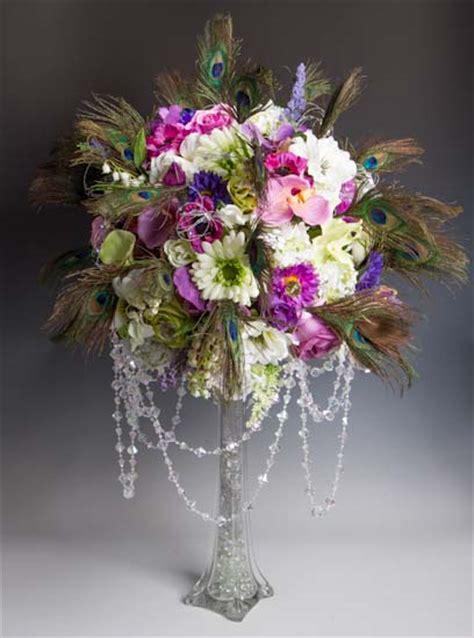 clear glass eiffel tower vase floral design