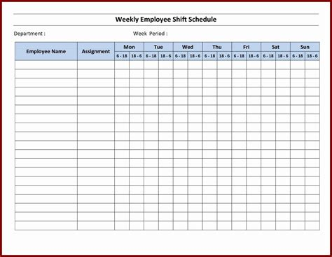 staff rota excel template staff rota excel template image collections template