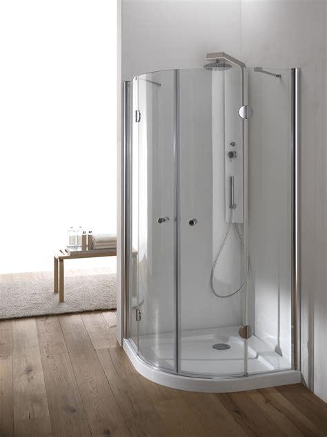 box doccia chiuso sopra hawa box doccia circolare finitura cromo 80 cm trasparente