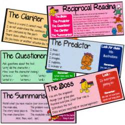 reciprocal reading group cards for guided reading leanne