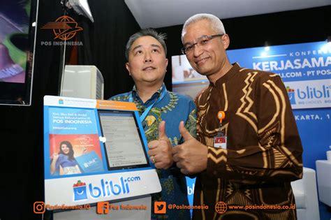 blibli retur kerjasama strategis blibli com gandeng pos indonesia