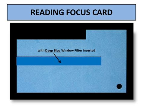 Reading Focus Card Template by Reading Focus Card Slideshow 2012