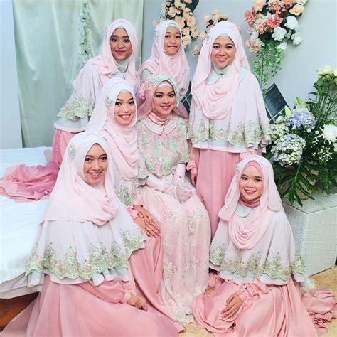 Baju Muslim Wanita Gamis Setelan Amanda Murah gambar syari 7 desain baju pengantin syar i modern ala