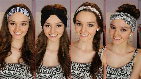 how to use headbands like a cover the hairstyles magazine