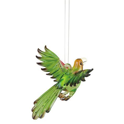 amazon parrot blown glass christmas ornament