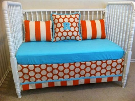 Turquoise And Orange Crib Bedding Turquoise And Orange Crib Bedding Baby Hungry P Paint Posts And Toddler Bed