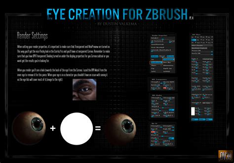 Zbrush Realistic Tutorial | zbrush creating realistic eyes tutorial