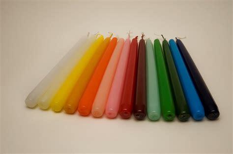 candele colorate candele colorate cereria marinelli