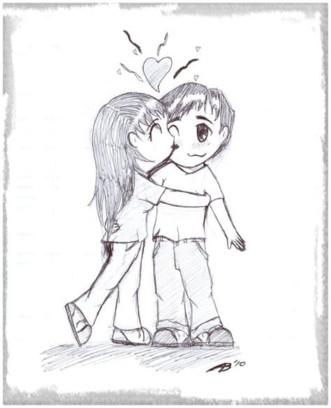 imagenes a lapiz de amor anime dibujos anime a lapiz de amor dibujos de amor a lapiz