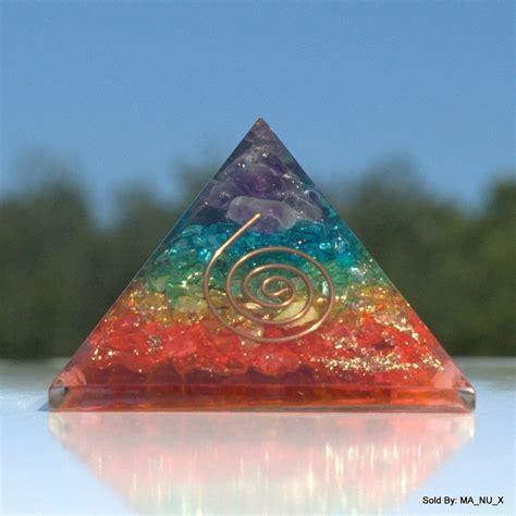 Chakra Crystal Orgone Energy Reiki Infused Pyramid   eBay