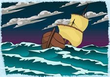 cartoon boat in storm bbc ks3 bitesize english the tempest revision page 2