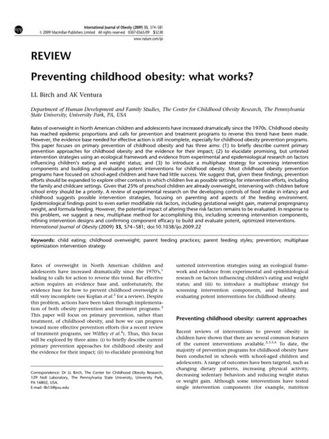 research papers on childhood obesity research paper outline childhood obesity